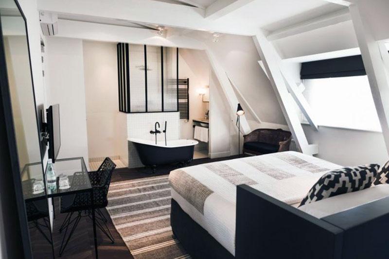 Высококлассный романтический отель Амстердама - Morgan & Mees