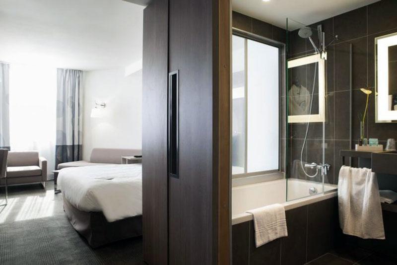 Комфортабельный романтический отель Тулузы - Novotel Toulouse Centre Wilson