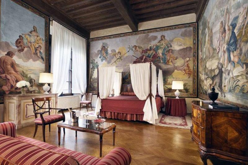 фешенебельный романтический отель Флоренции - Palazzo Niccolini al Duomo