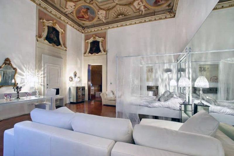 люксовый романтический отель Флоренции - Palazzo Tolomei