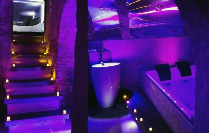 Спокойный романтический отель в Лилле - Private Room & Spa