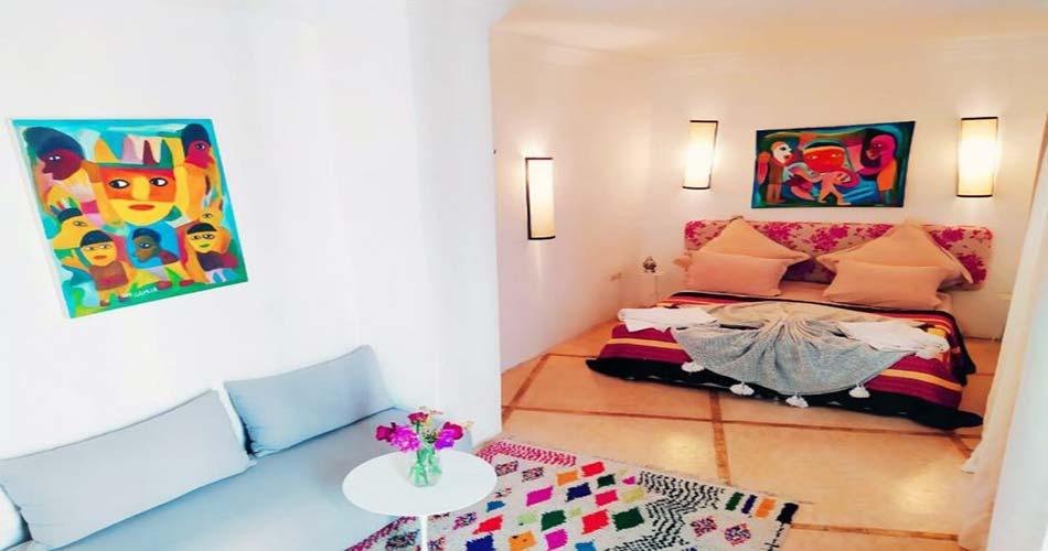 Чудный риад для сна в Марракеше - Riad 117