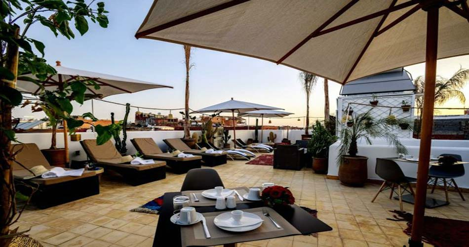 люксовый отель с видом на Марракеш - Riad Jemaa El Fna & Spa