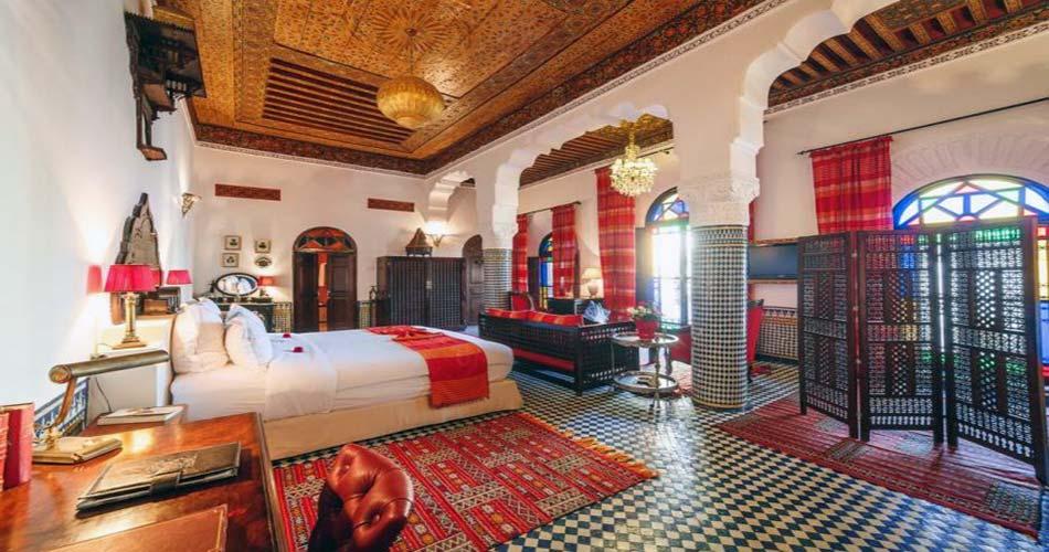 Прекрасный риад для сна в Фесе - Riad Le Calife
