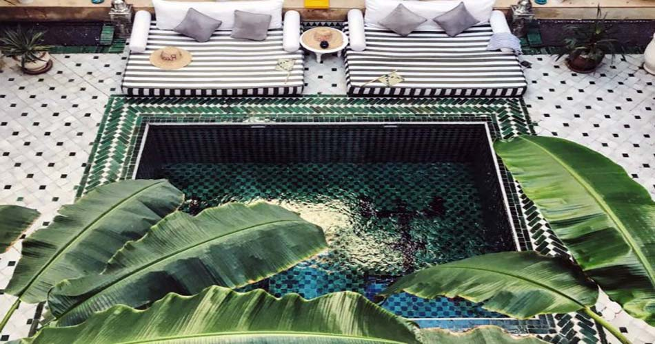 Сказочный риад для сна в Марракеше - Riad Yasmine