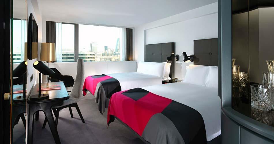 Комфортабельный отель с видом на Лондон - Sea Containers London
