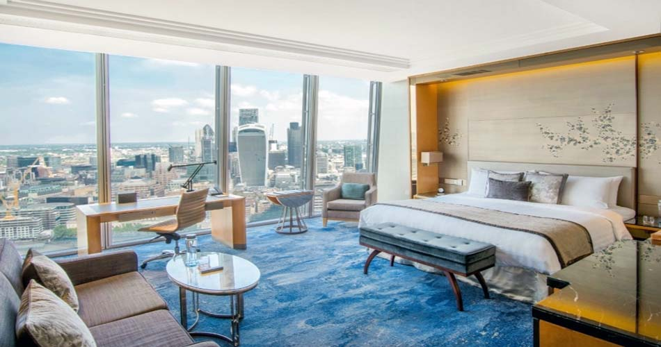 Наикрасивейший отель с видом на Лондон - Shangri-La Hotel at The Shard London