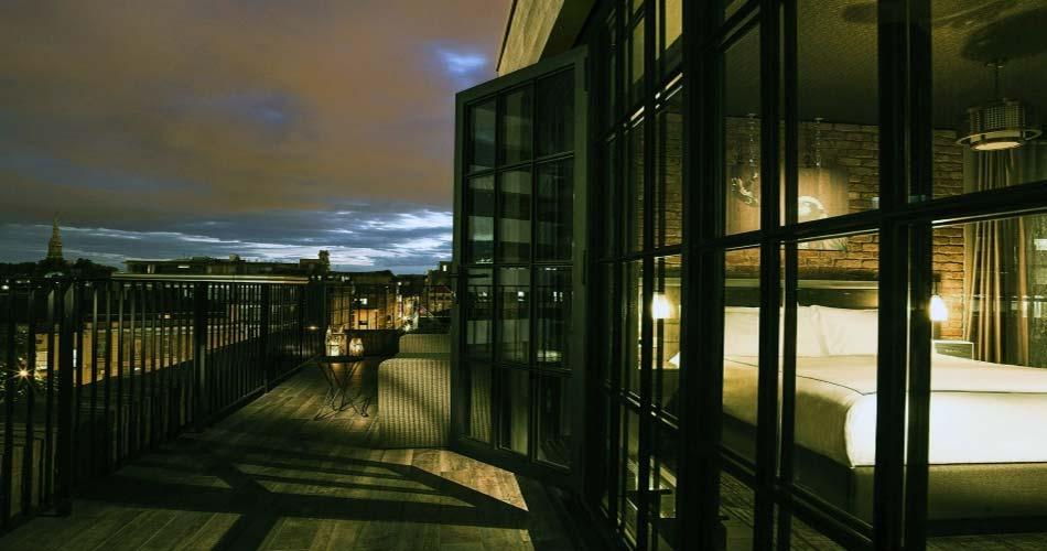 Изящный комплекс с видом на Лондон - The Curtain