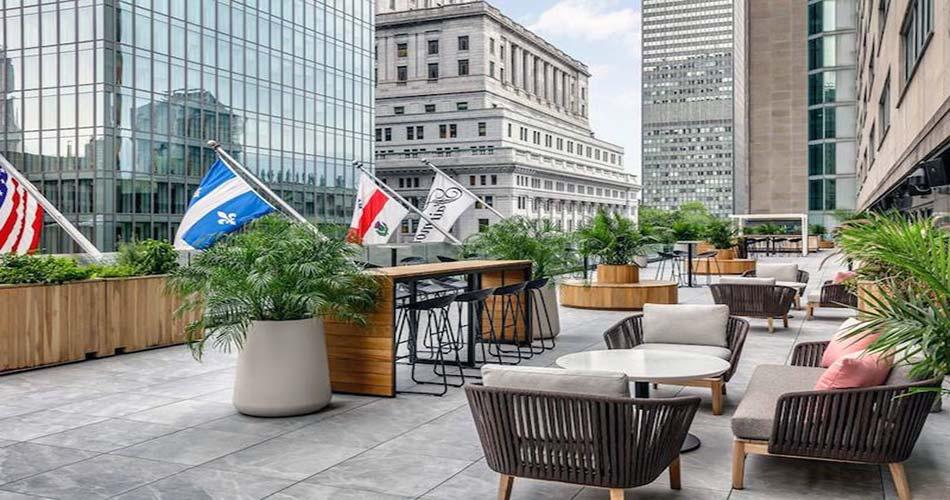 Один из лучших отелей с видом на Монреаль - The Queen Elizabeth