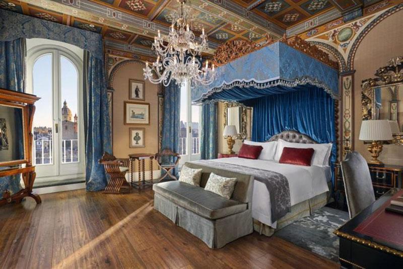 помпезный  романтический отель Флоренции - The St. Regis