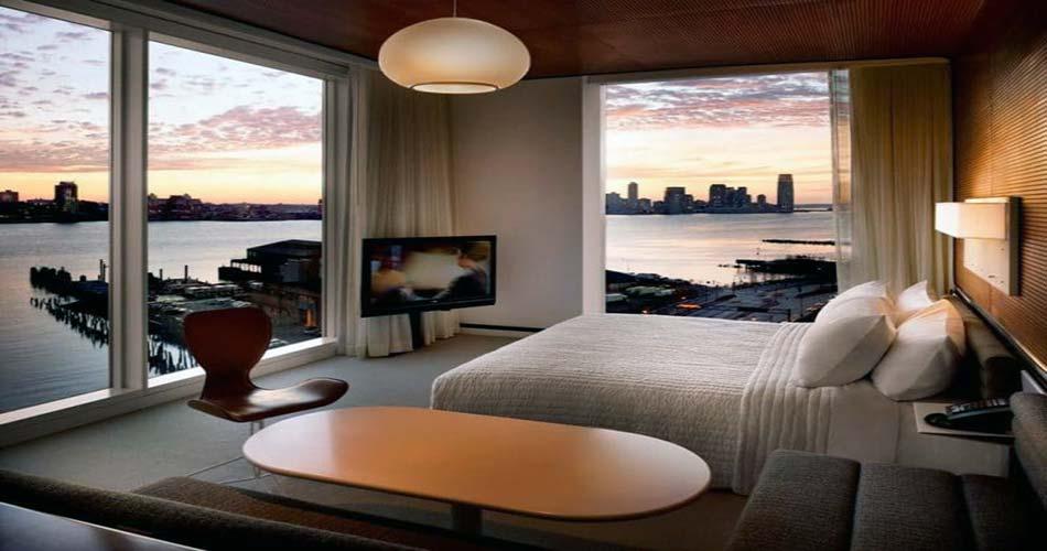 Изумительный отель с видом на Нью-Йорк - Standard High Line