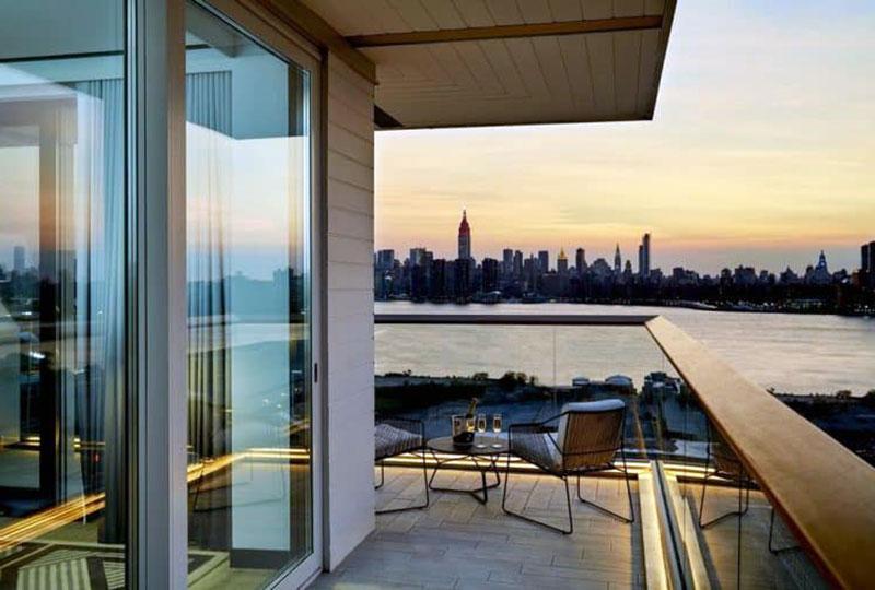 Один из лучших романтических отелей Нью-Йорка - The William Vale