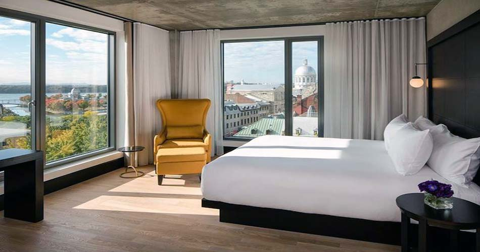 Привилегированный отель с видом на Монреаль - William Gray
