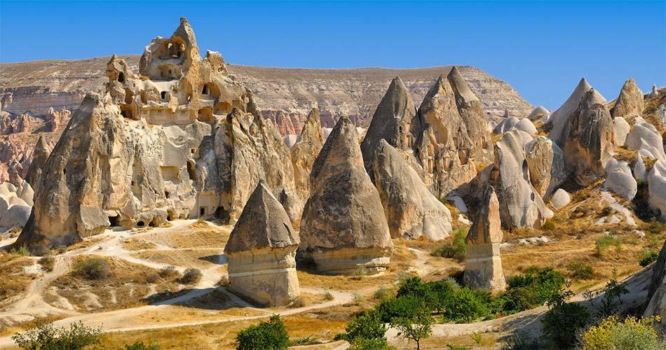 Самые красивые места и направления в Турции