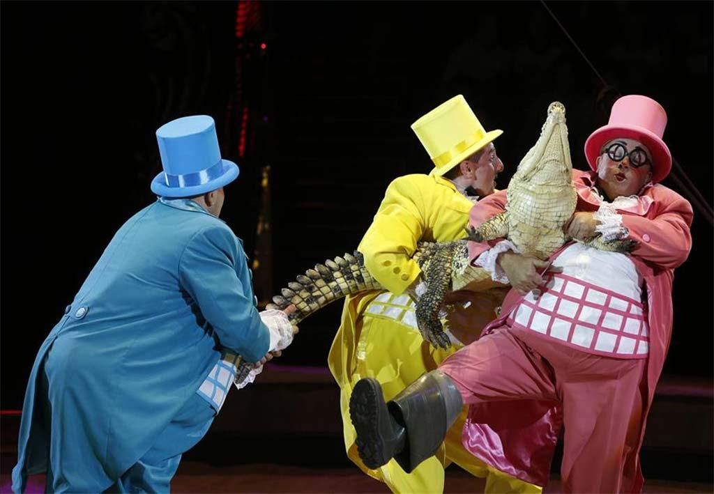 Всемирный фестиваль циркового искусства Идол в Москве