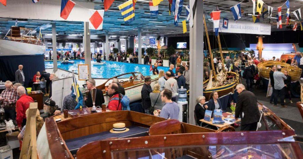 Выставка яхт и парусных судов в Гетеборге