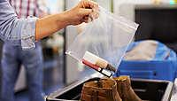 Правила перевозки жидкостей в салоне самолета