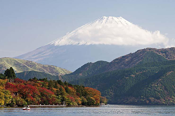 Япония, краски осени