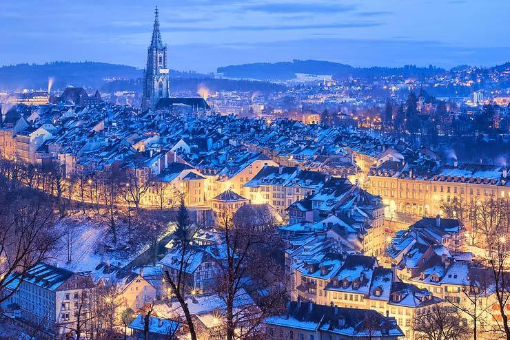 Рождество в Швейцарии, между рынками, поездом и горами