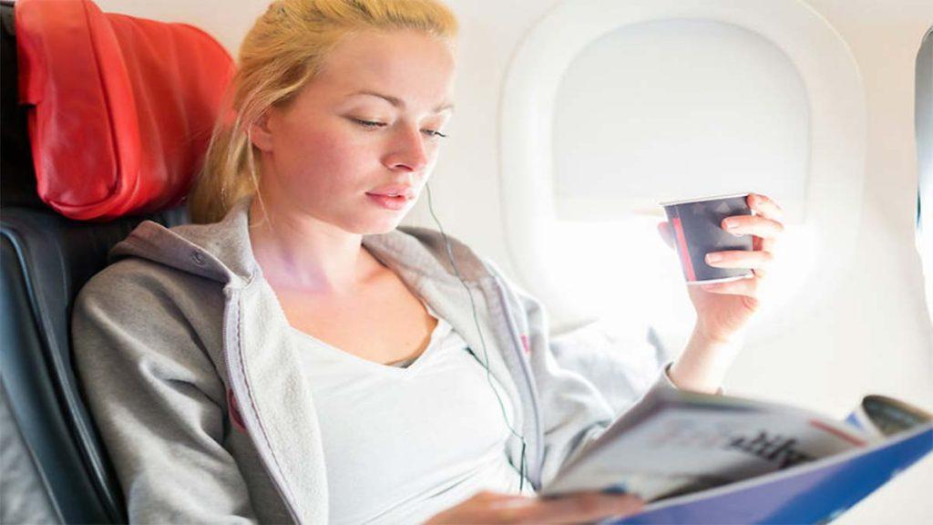 Тревога на борту самолета
