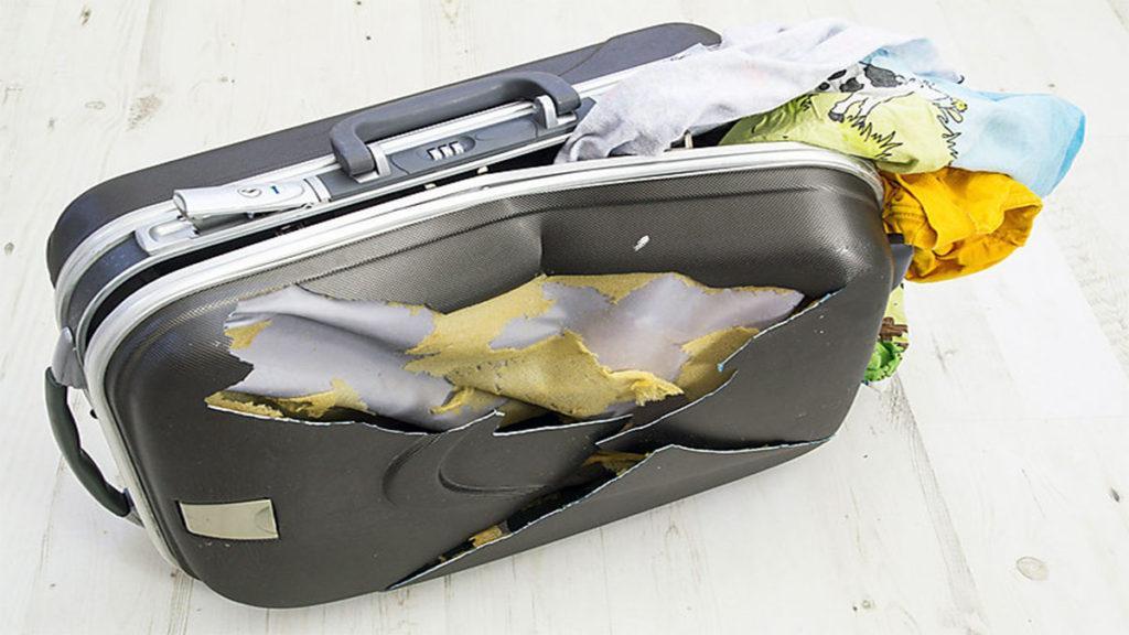 Утерянный или поврежденный багаж в самолете