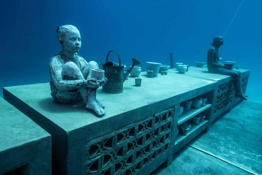 Музей подводного искусства в Австралии