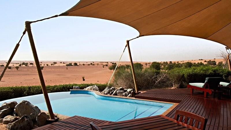 Люксовый курортный комплекс Al Maha Desert