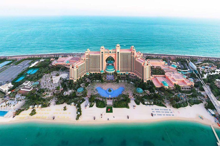 Роскошные отели Дубая