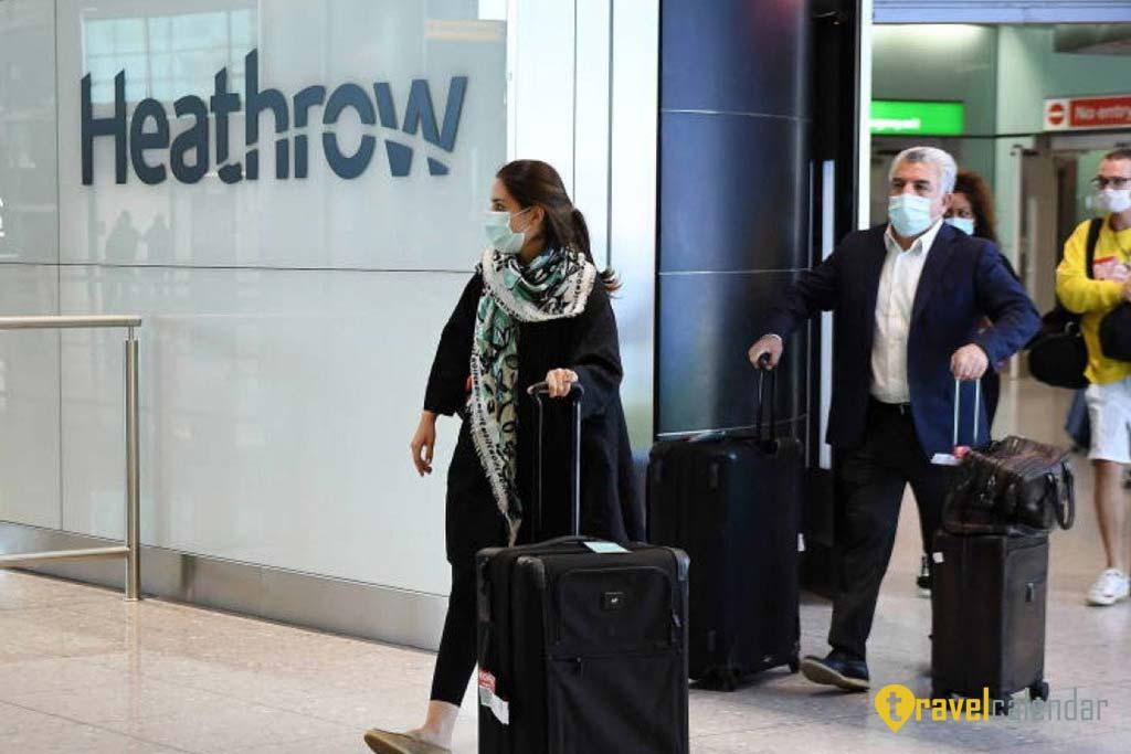 Полеты из Великобритании приостановлены