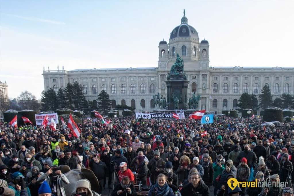 Австрия продлевает карантин. Туризм закрыт до марта 2021 г.
