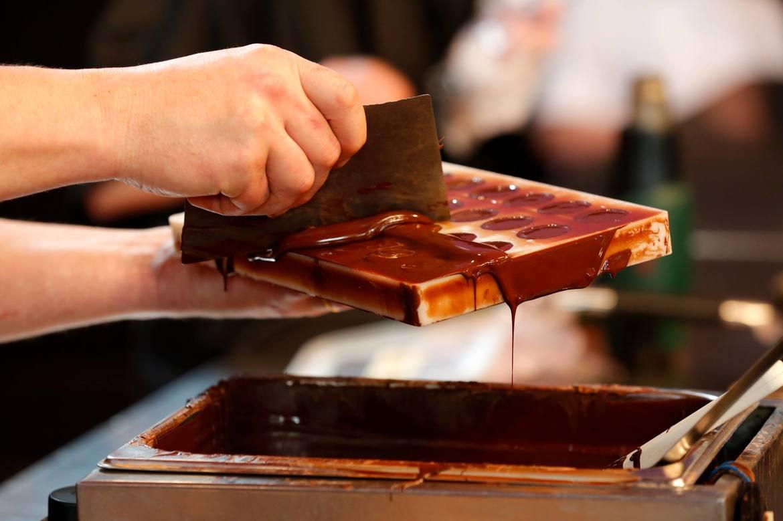 как делают шоколад фото встретили новый год
