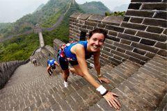Марафон по Великой китайской стене в Пекине