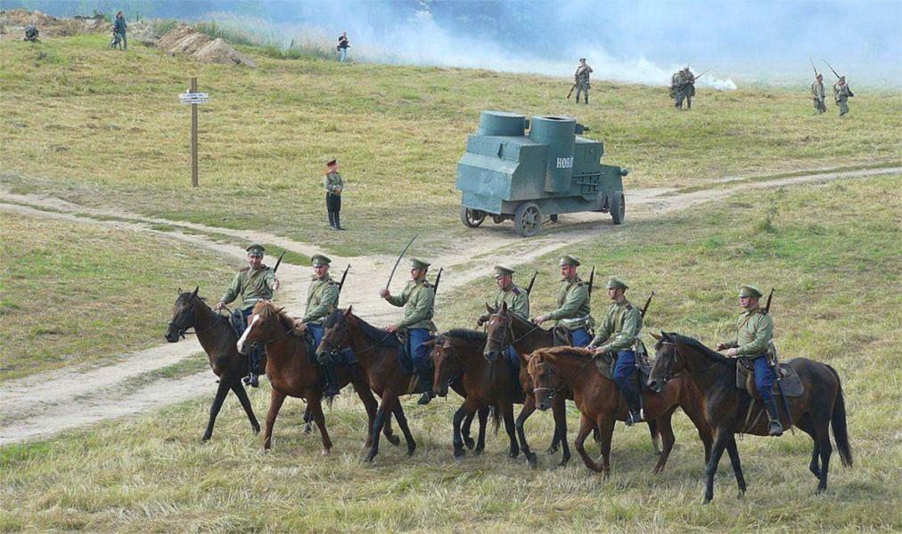 Военно-исторический фестиваль «Гумбинненское сражение» в Гусеве 57167f676b46a912e6bece215697d28b.jpg