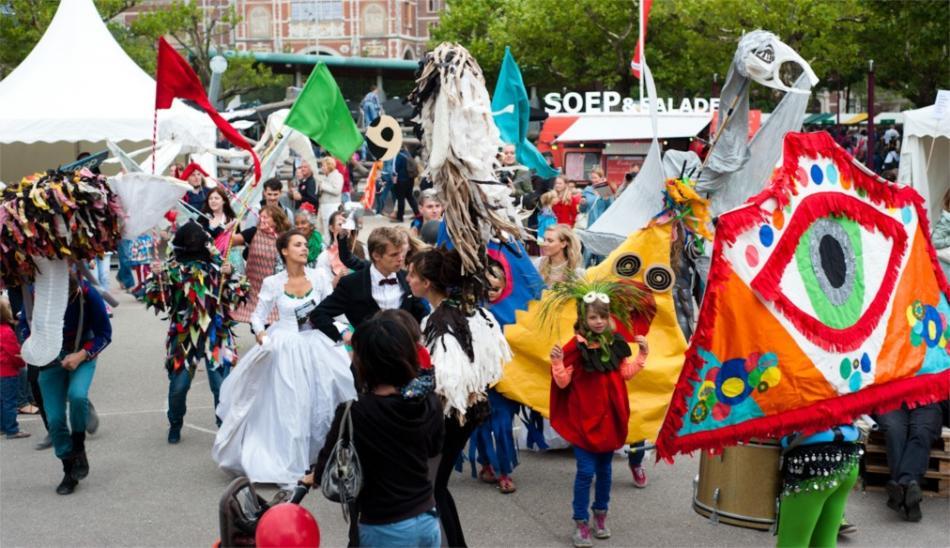 Фестиваль искусств Uitmarkt в Амстердаме 6f1c1d4d4b8b994960eaab782dc529ba.jpg