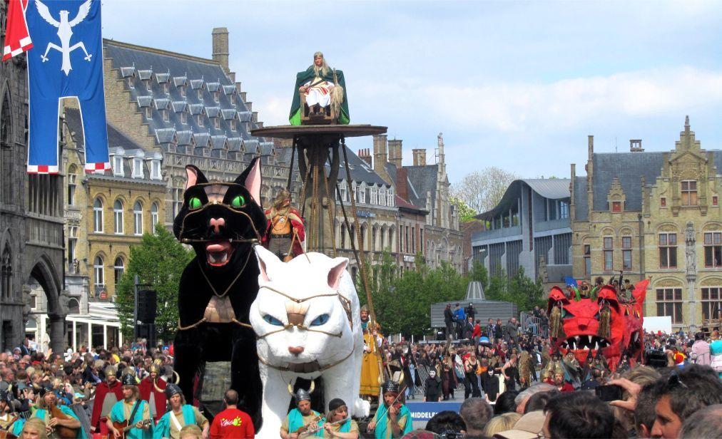 Фестиваль котов в Ипре